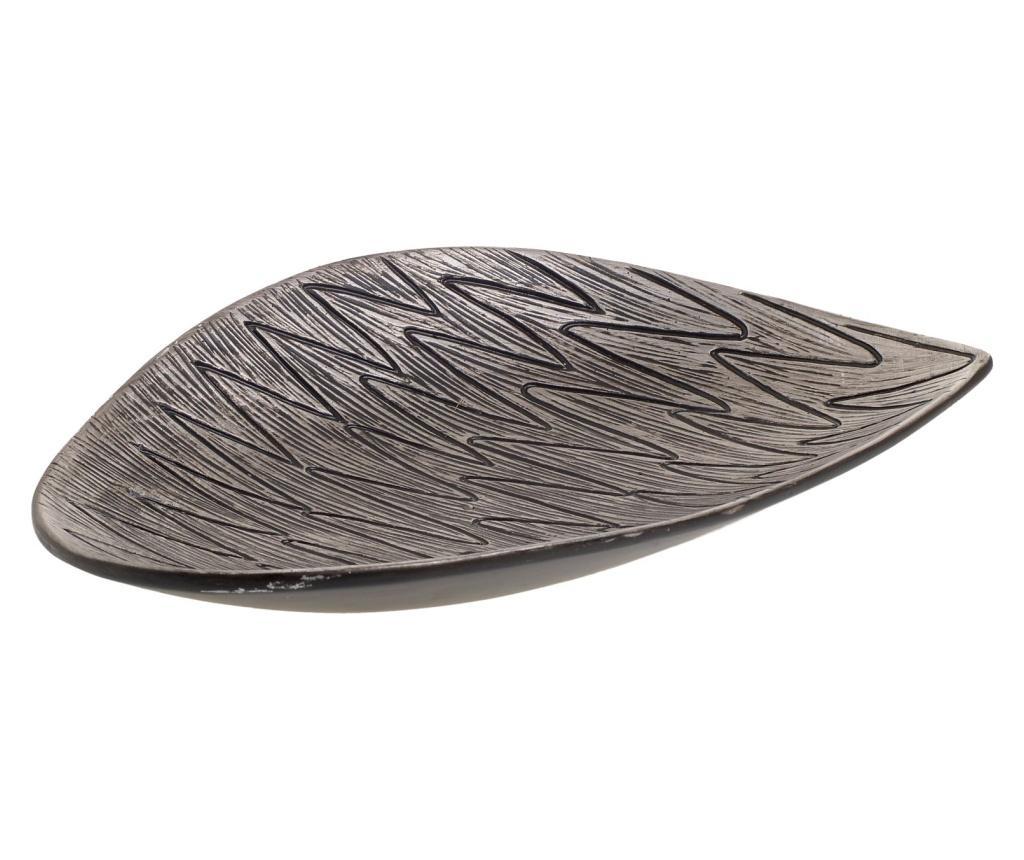 Platou decorativ - inart, Gri & Argintiu de la inart