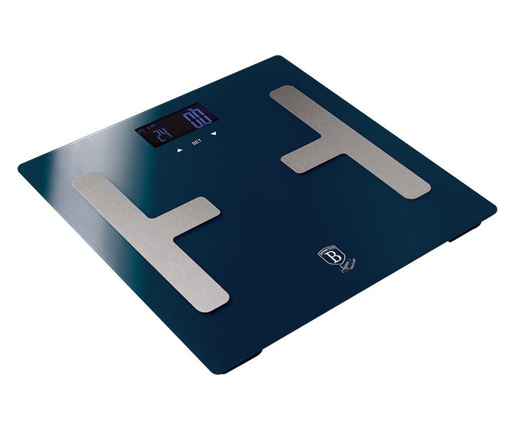 Poza Cantar de baie pentru masurarea grasimii corporale Metallic Line Aquamarine - Berlinger Haus, Albastru