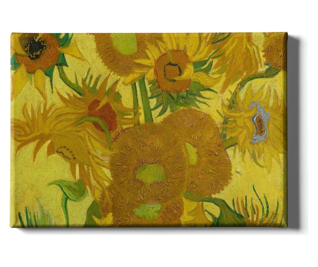 Tablou Banco Miseno 50x70 cm - TABLOCENTER, Multicolor