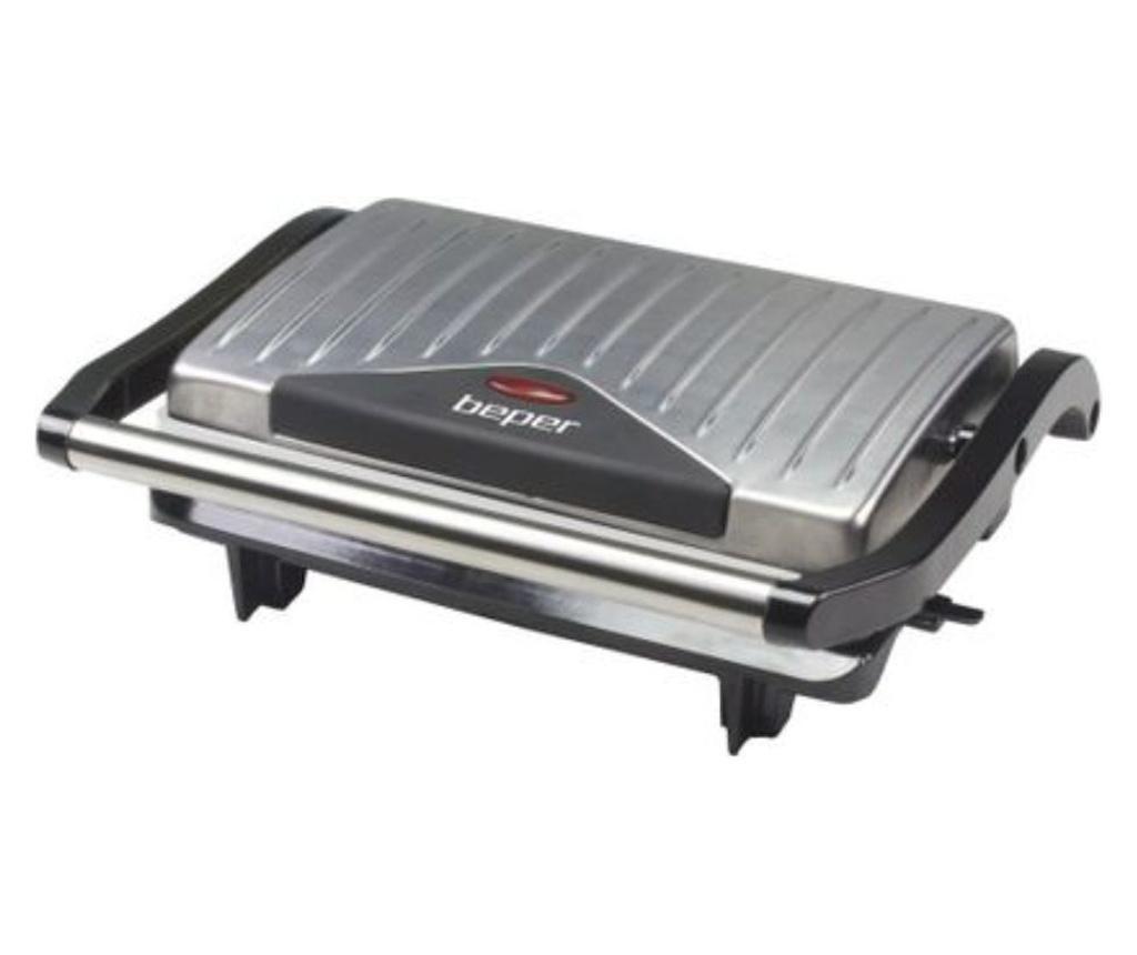 Sandwich maker - Beper, Gri & Argintiu
