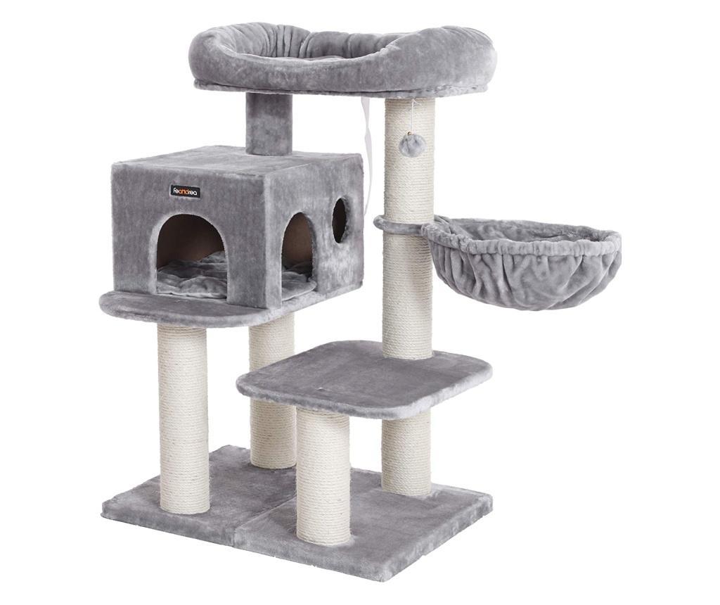 Jucarie Pisici Gri Argintiu