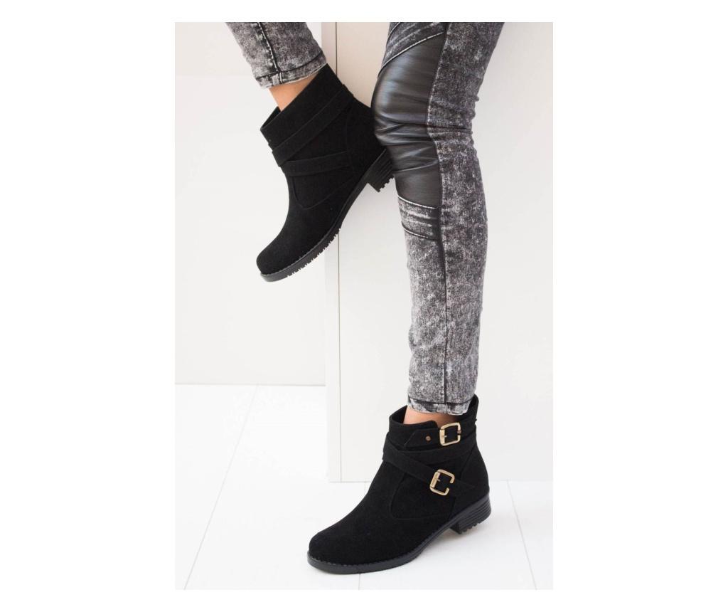 Ghete dama 39 - Fox Shoes, Negru
