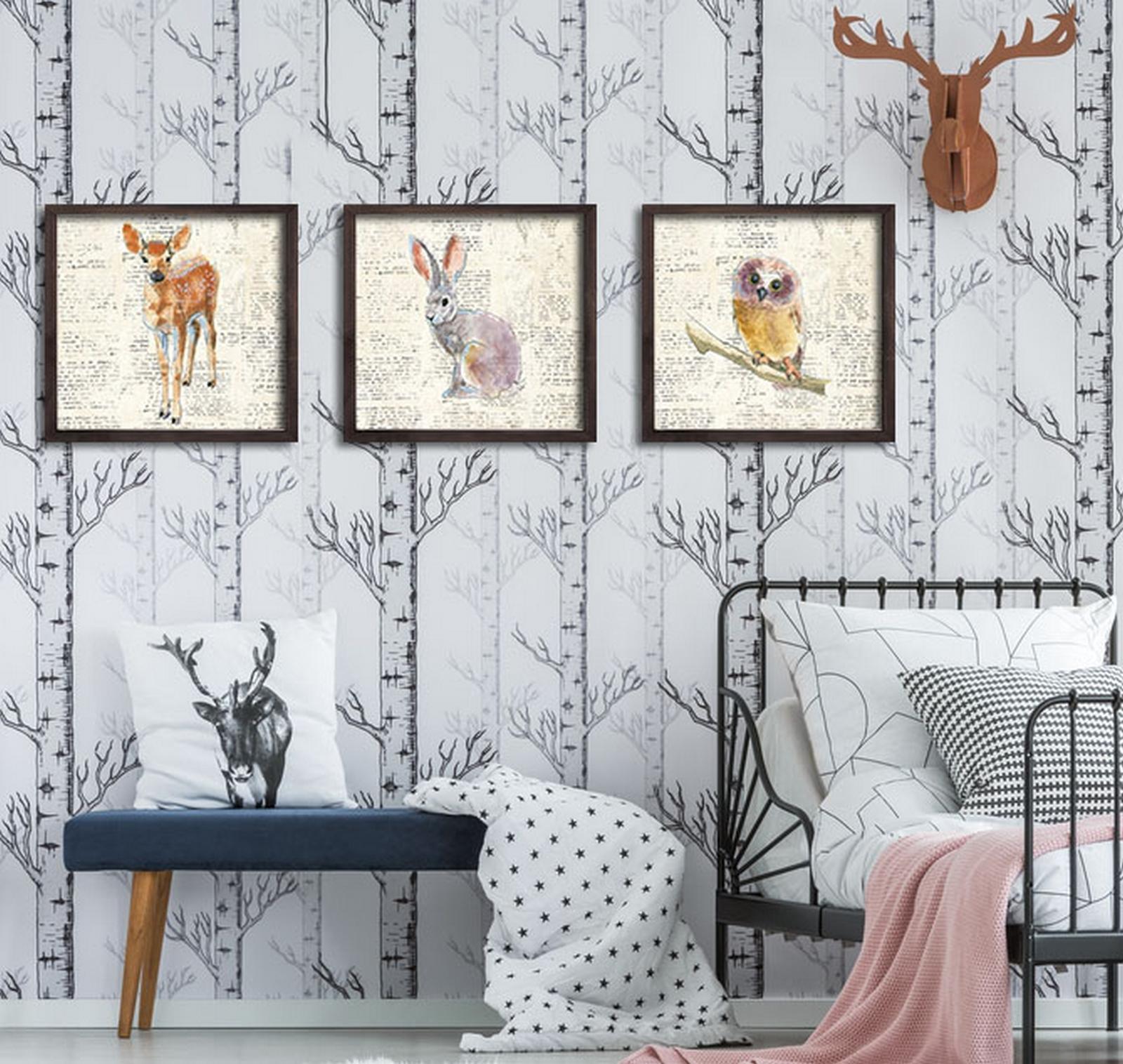 Set 3 tablouri - Oyo Concept, Multicolor