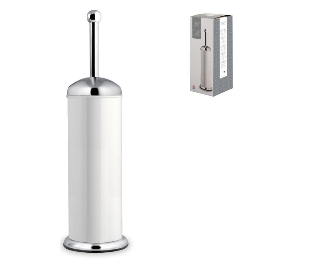 Perie de toaleta cu suport - HOME IN ROMBO , Gri & Argintiu de la HOME IN ROMBO