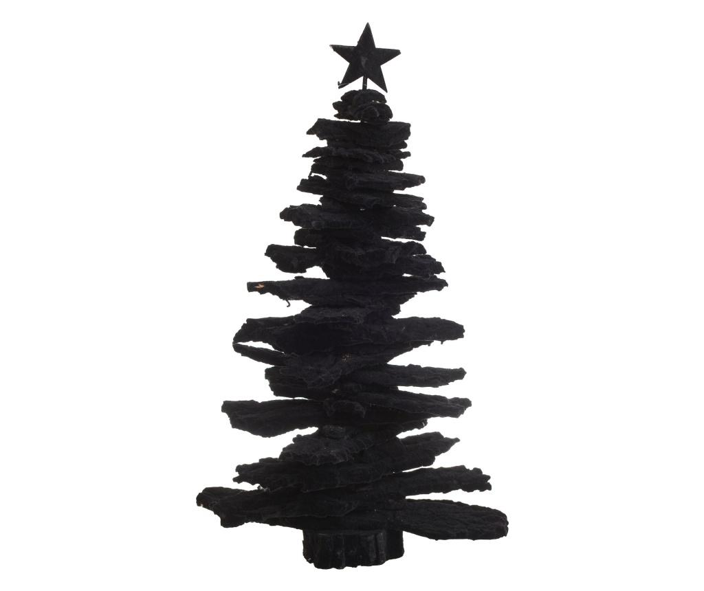 Decoratiune Velvet Black - inart, Negru