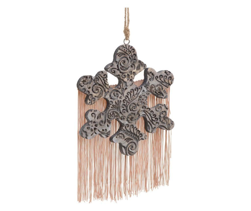Set 6 decoratiuni suspendabile - inart, Gri & Argintiu