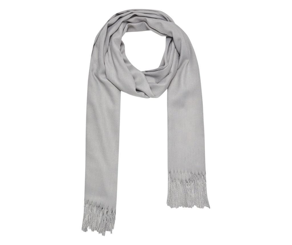 Esarfa dama 72x190 cm - Moodo, Gri & Argintiu