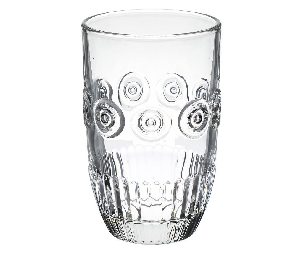 Set 6 pahare pentru apa - Click, Alb