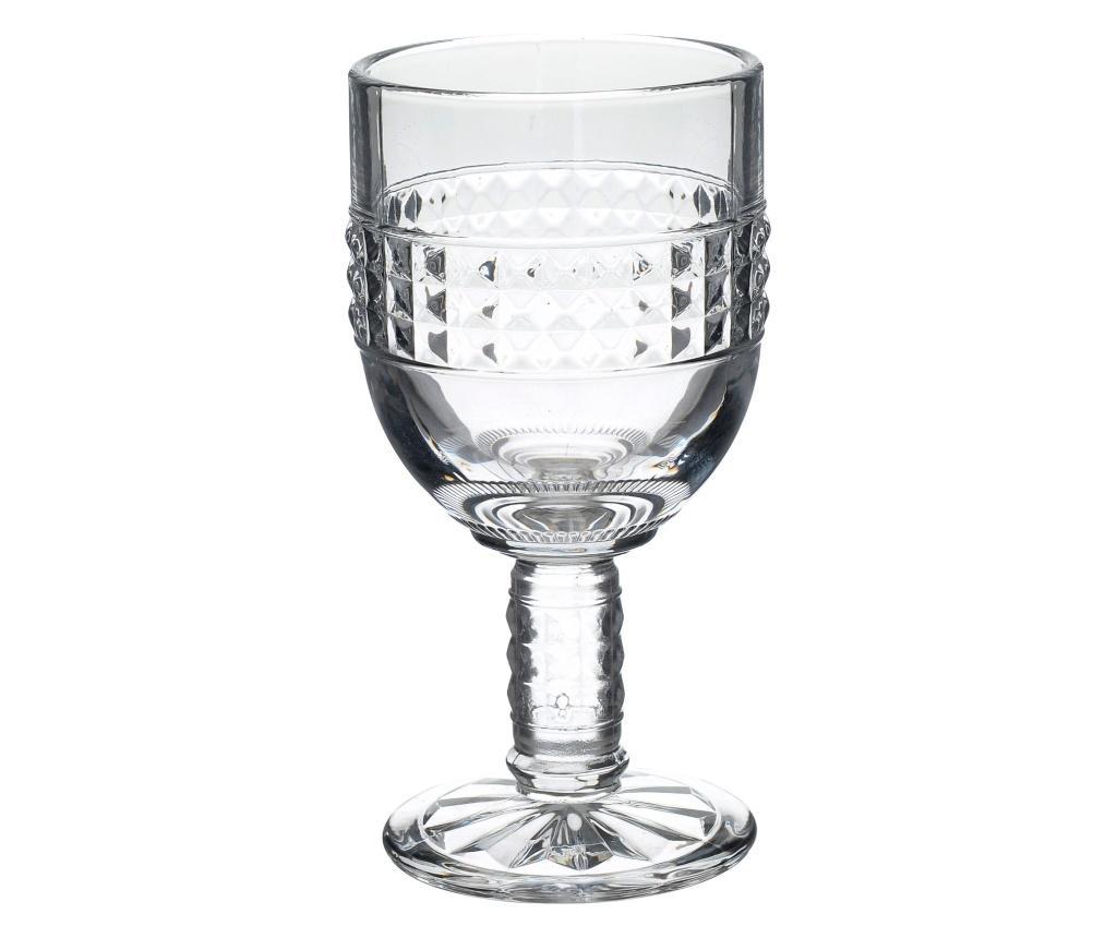 Set 6 pahare pentru vin - Click, Alb