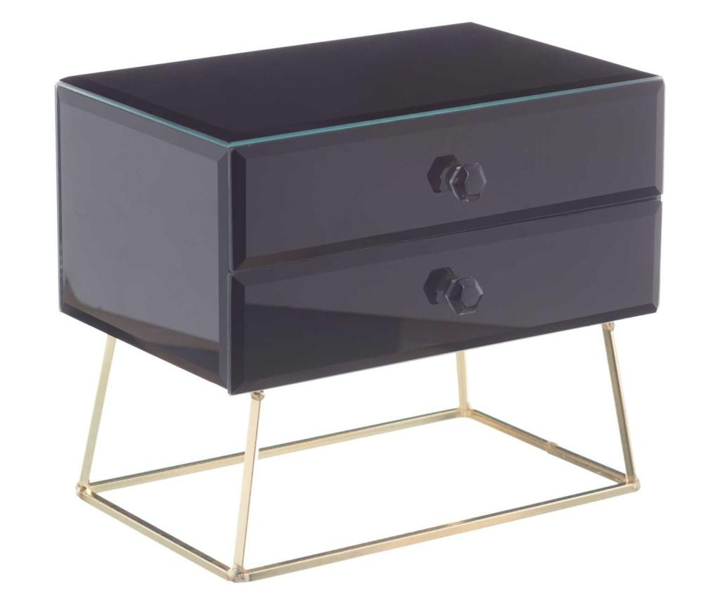 Cutie pentru bijuterii - Ixia, Negru