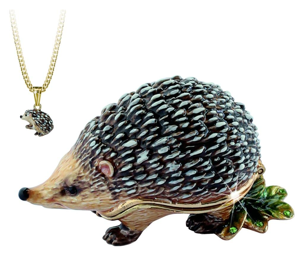 Figurina Secrets - Hedgehog - Secrets from Hidden Treasures, Multicolor
