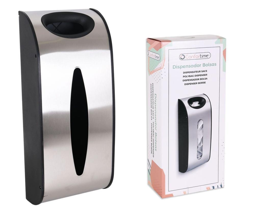Dispenser pentru plase - CONFORTIME, Gri & Argintiu,Verde