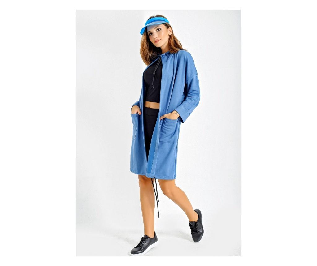 Jacheta dama S-M - By Saygi, Albastru