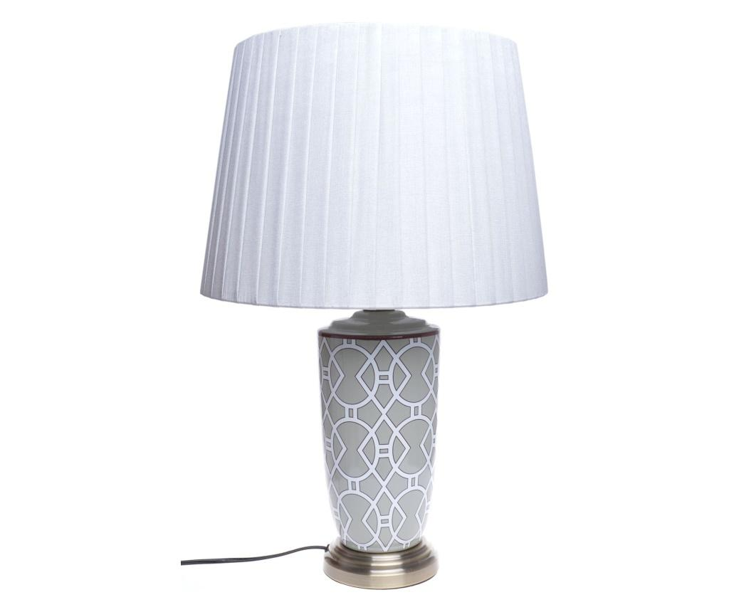 Lampa De Masa - Ewax, Gri & Argintiu