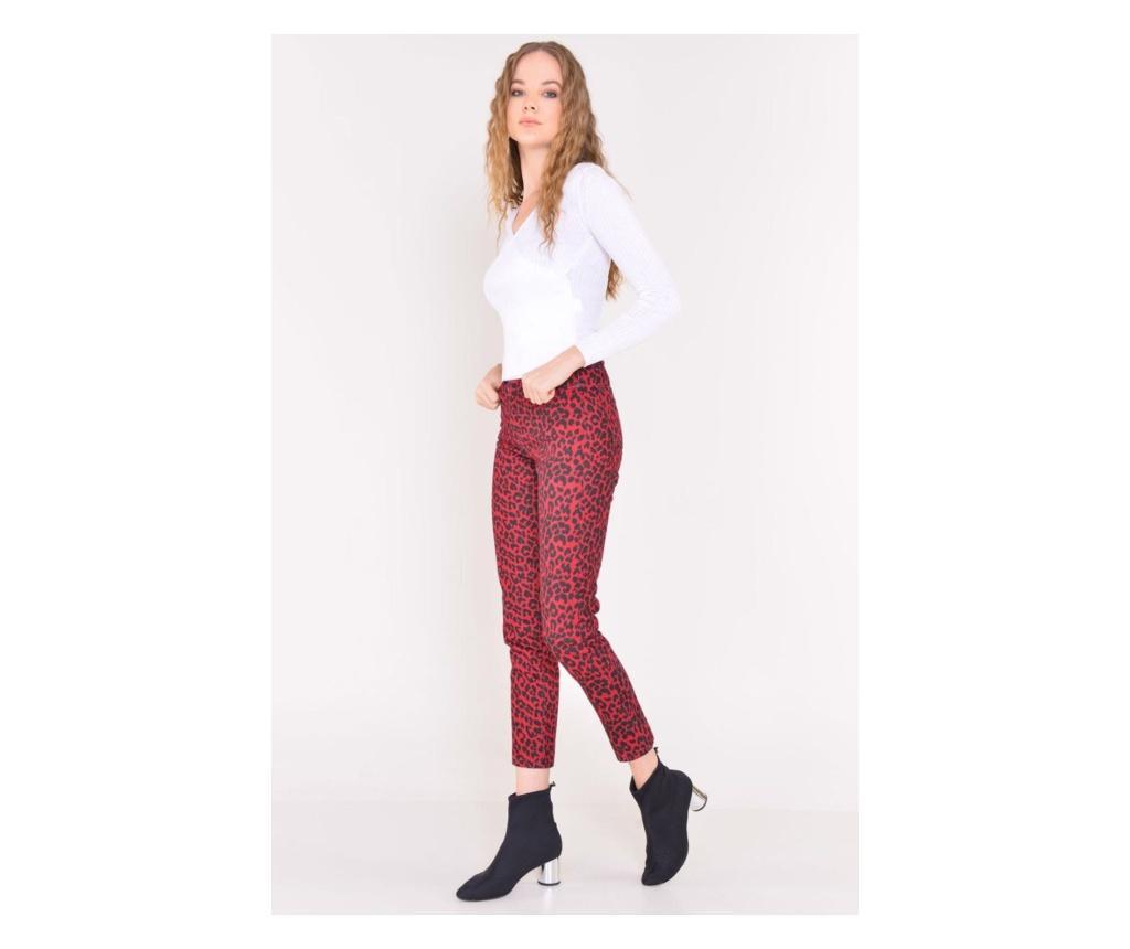 Pantaloni dama M - BSL, Rosu