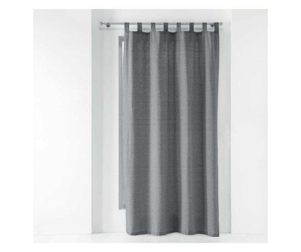 Draperie 140x240 cm - douceur d'intérieur, Gri & Argintiu