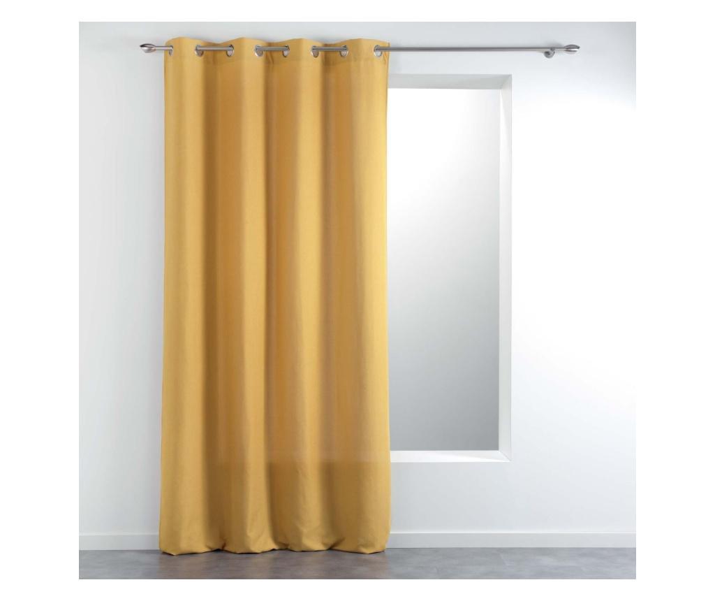 Draperie 140x260 cm - douceur d'intérieur, Galben & Auriu
