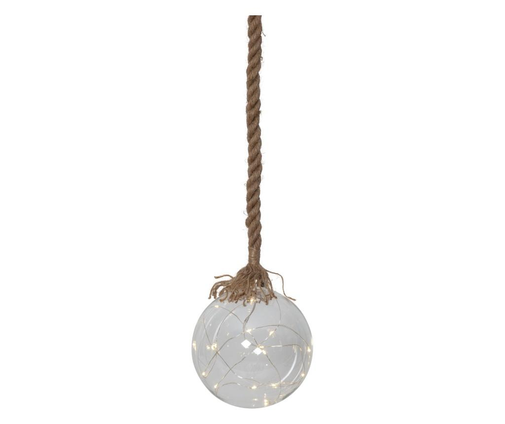 Decoratiune suspendabila cu LED Jutta - Best Season, Crem