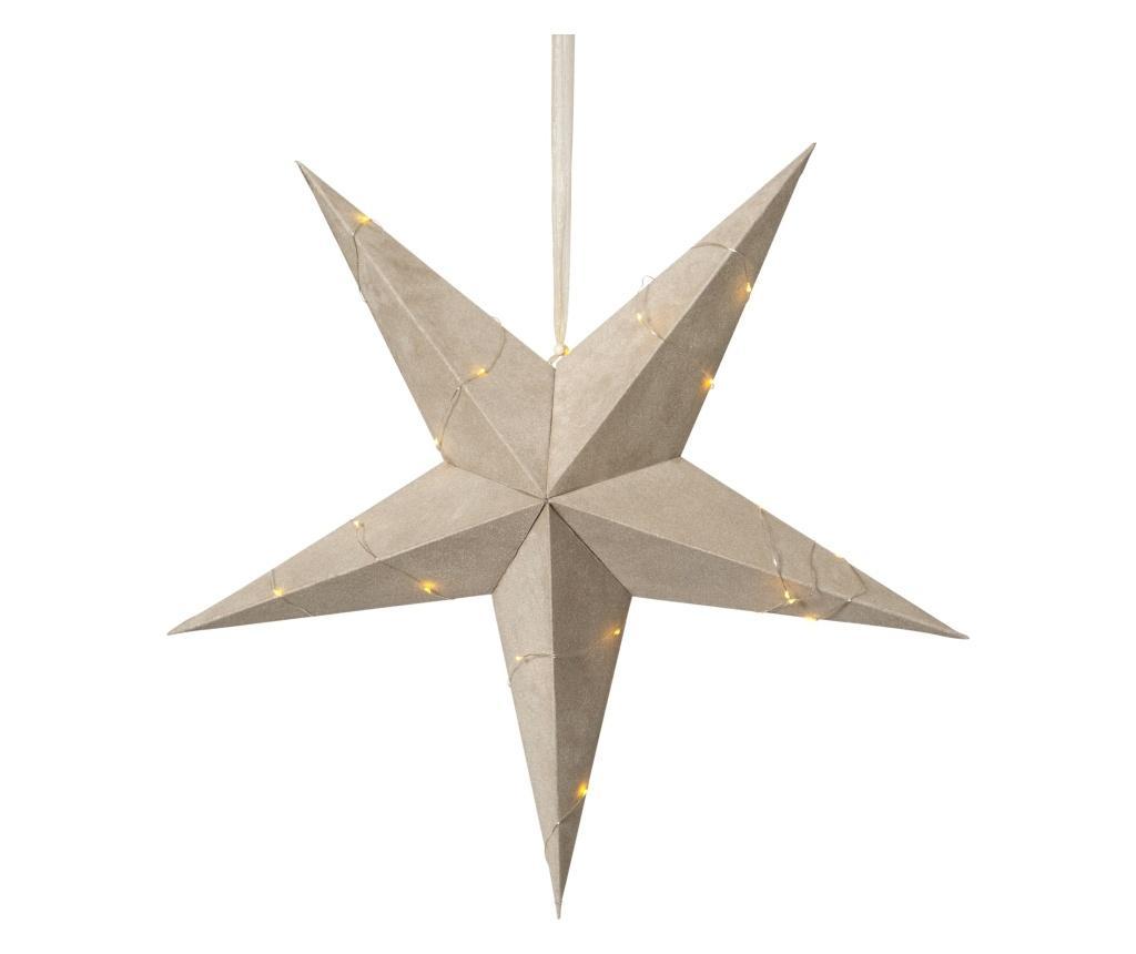 Decoratiune suspendabila cu LED Velvet - Best Season, Crem