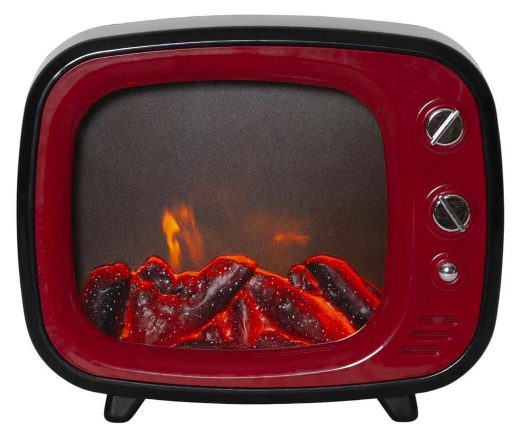 Felinar cu LED Fireplace - Best Season, Rosu