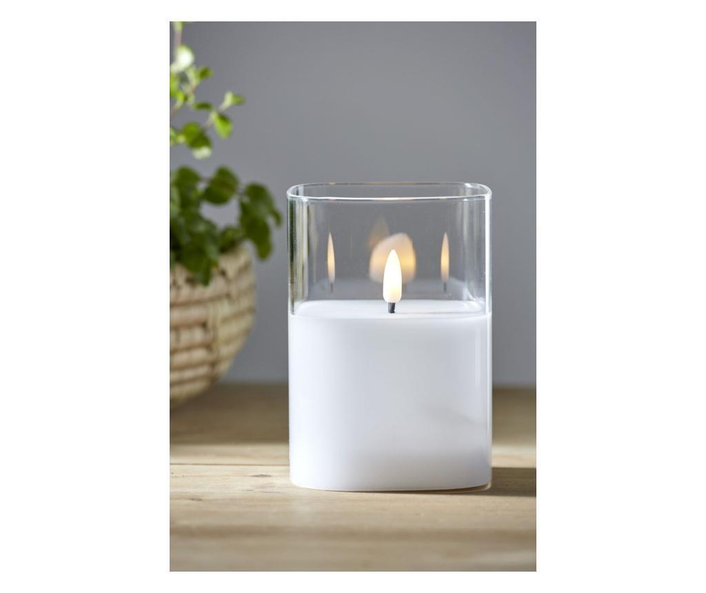 Lumanare cu LED Flamme - Best Season, Alb