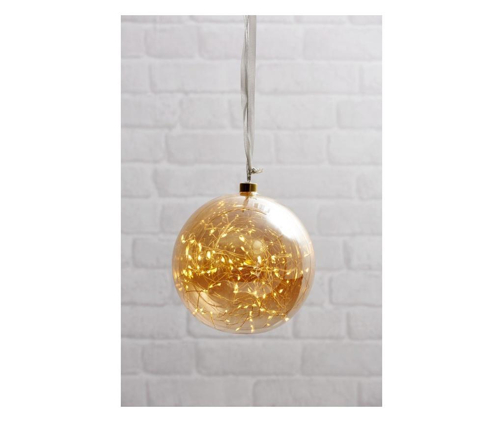 Decoratiune suspendabila cu LED Glow - Best Season, Galben & Auriu