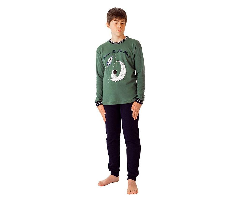 Pijama baieti Astronauta 16 years - a.apunto, Verde