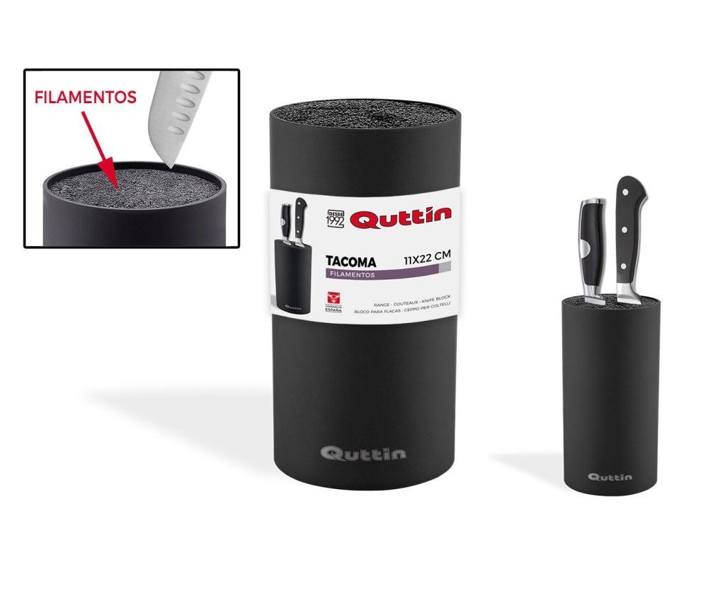 Suport pentru cutite - QUTTIN, Negru imagine 2021