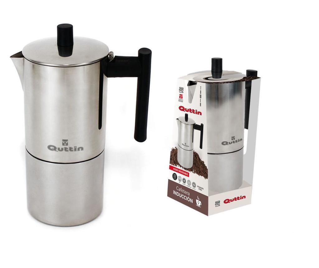 Cafetiera - QUTTIN, Gri & Argintiu