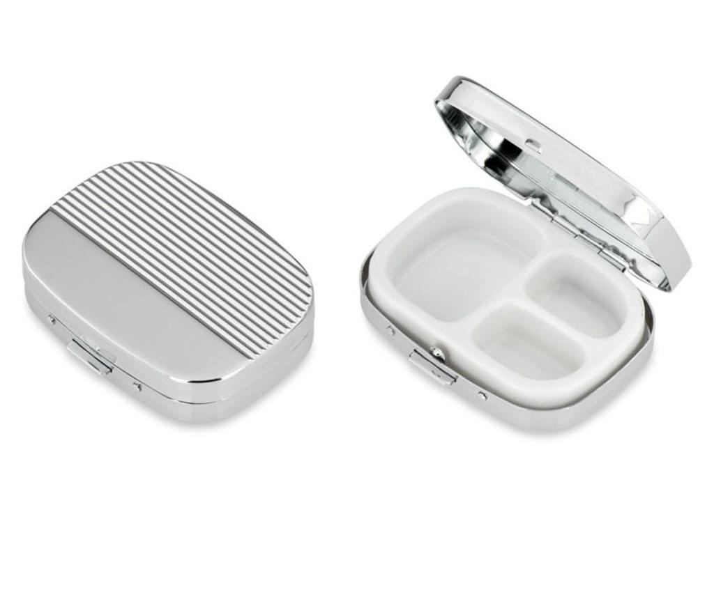 Cutie pentru pastile - Hermann Bauer, Gri & Argintiu