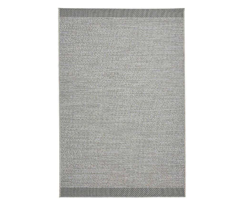 Covor Stitch 160x220 cm - Think Rugs, Negru