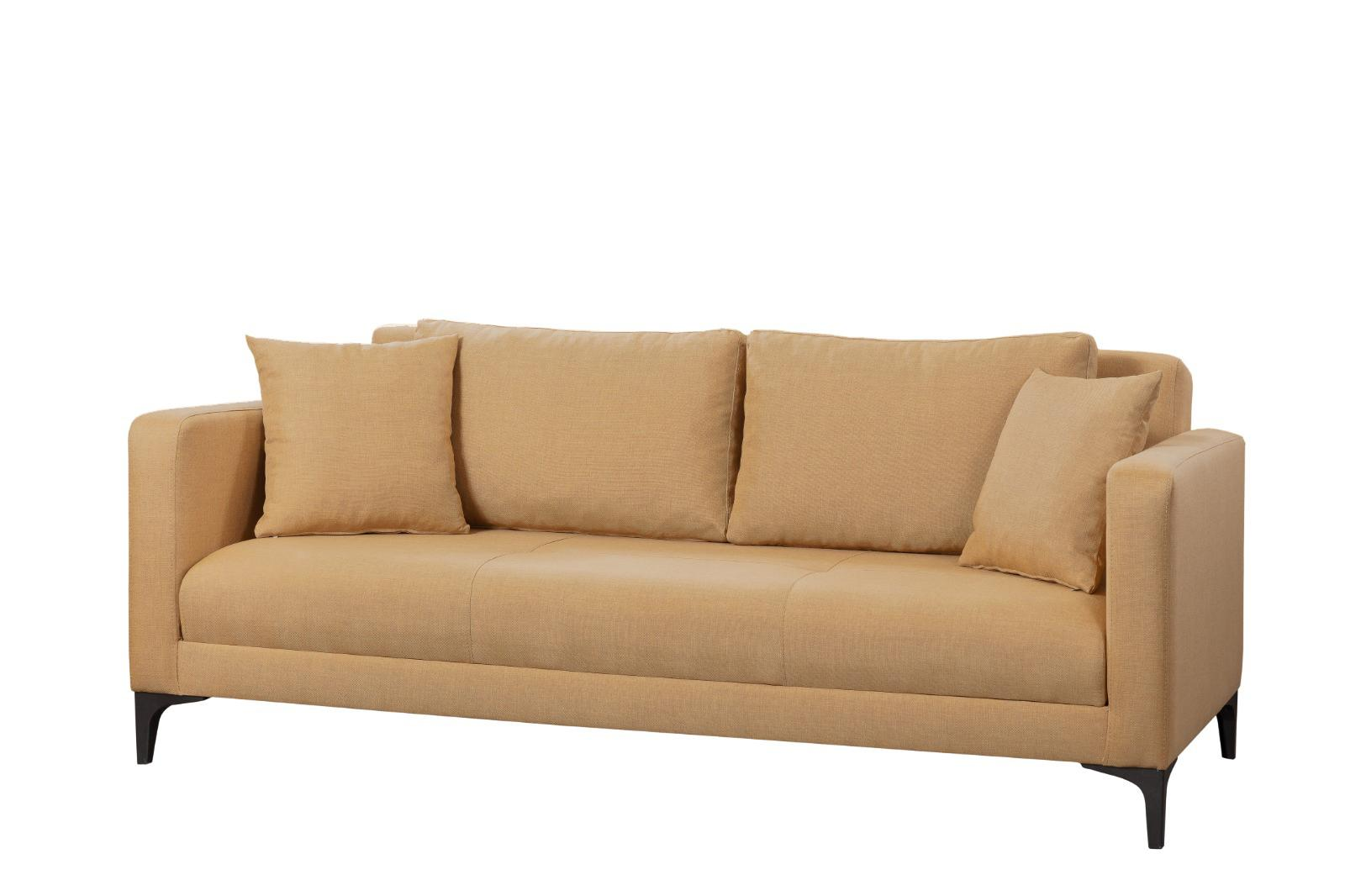Canapea extensibila 3 locuri Gauge Concept Light Brown - Gauge Concept, Maro