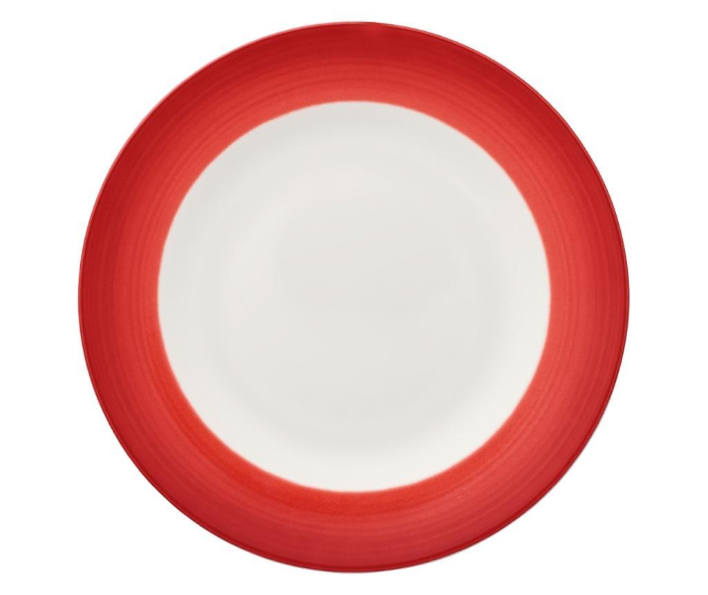 Set 6 farfurii pentru salata Colourful Life Deep Red - Villeroy & Boch, Rosu