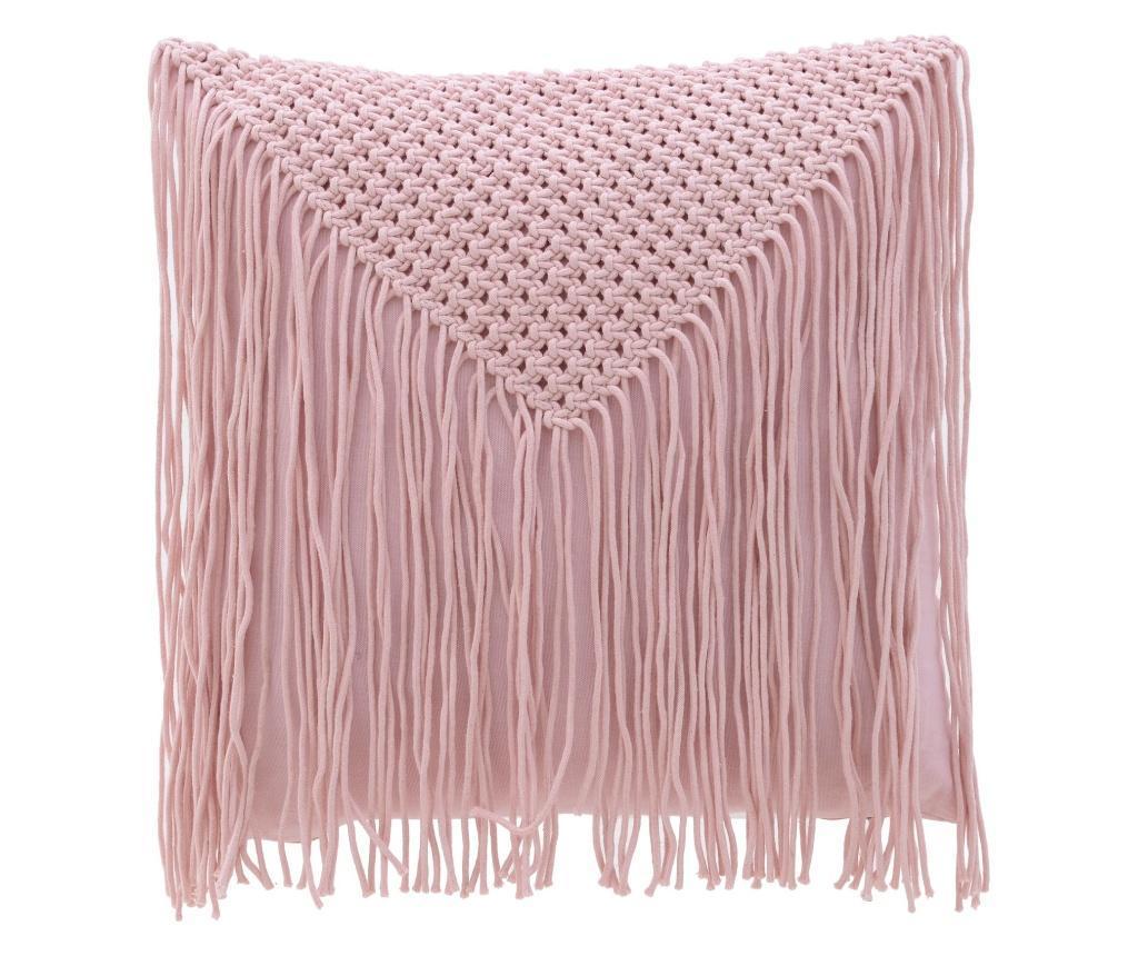 Perna decorativa Pink 45x45 cm - inart, Roz