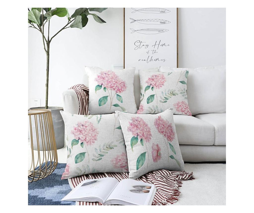 "<span class=""title-long"">Set 4 fete de perna Minimalist Cushion Covers 55x55 cm - Minimalist Home World, Multicolor</span>"