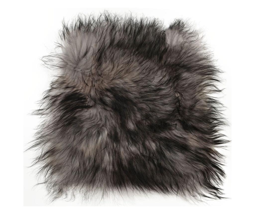 Perna de sezut Icelandic 40x40 - Arctic Fur, Gri & Argintiu de la Arctic Fur