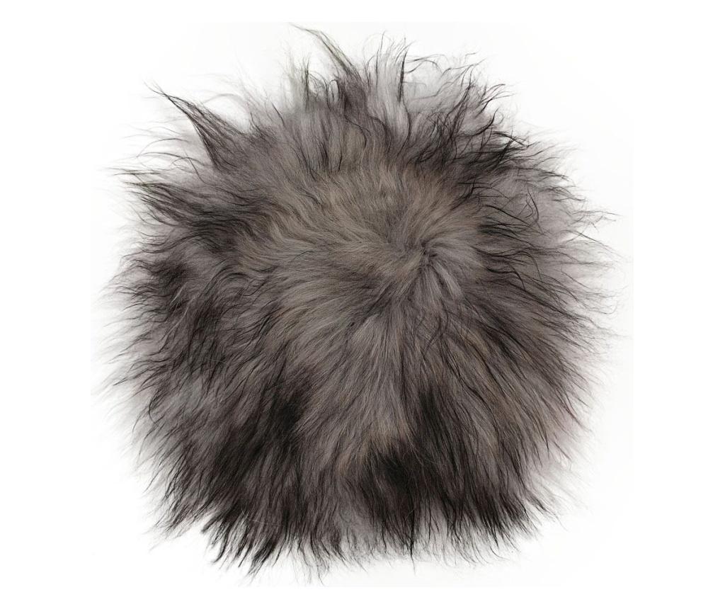Poza Perna de sezut Icelandic 40x40 - Arctic Fur, Alb