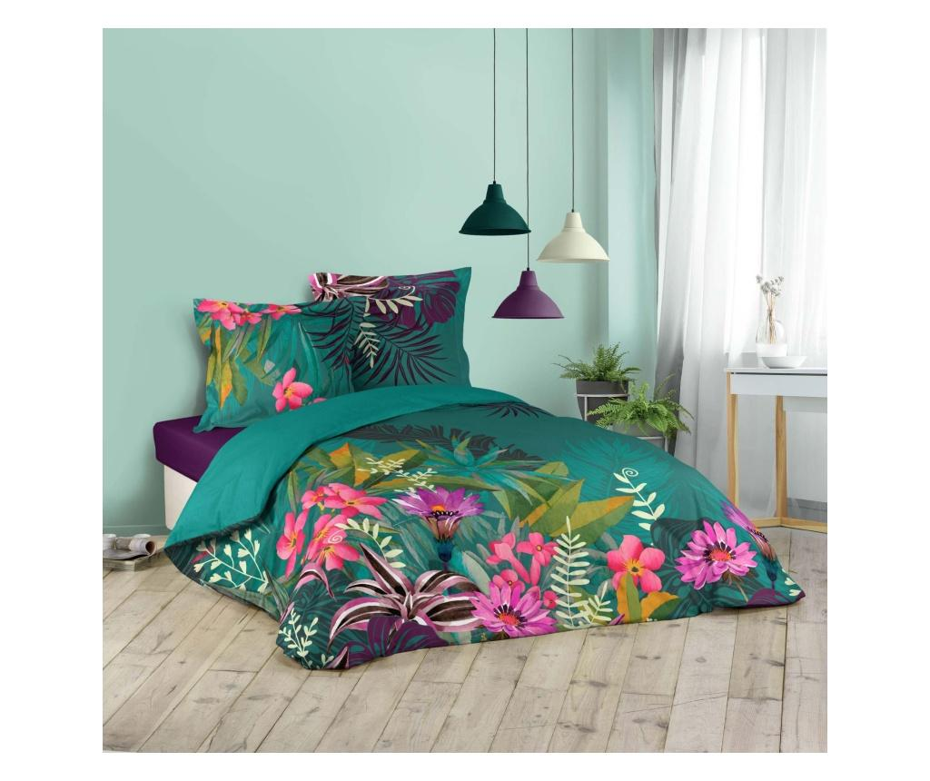 """<span class=""""title-long"""">Set de pat Double Eden Flower - douceur d'intérieur, Multicolor</span>"""