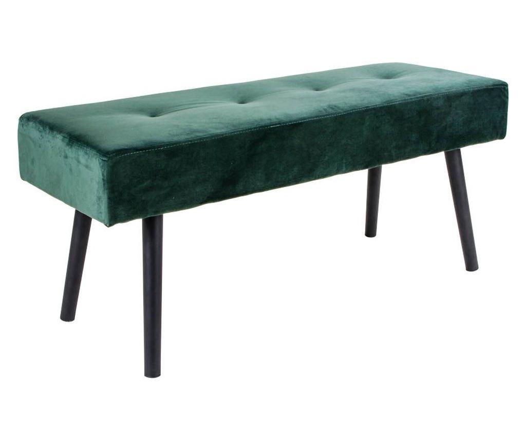 Bancheta Skiby Velvet Dark Green